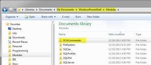 SCACommands Folder